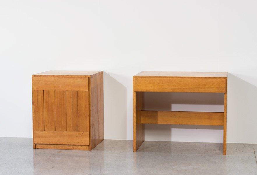 schwedischer vintage kiefernholz schreibtisch kommode bei pamono kaufen. Black Bedroom Furniture Sets. Home Design Ideas