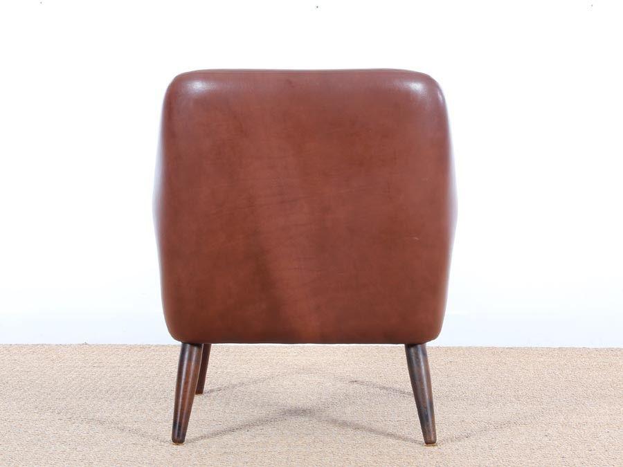 skandinavischer mid century sessel 1950er bei pamono kaufen. Black Bedroom Furniture Sets. Home Design Ideas