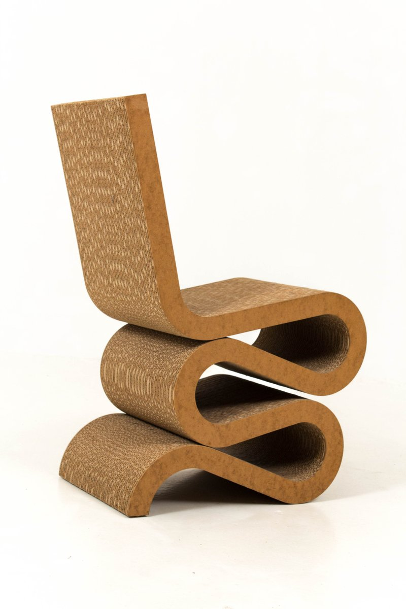 wiggle side chair by frank gehry for vitra 1992 for sale at pamono. Black Bedroom Furniture Sets. Home Design Ideas