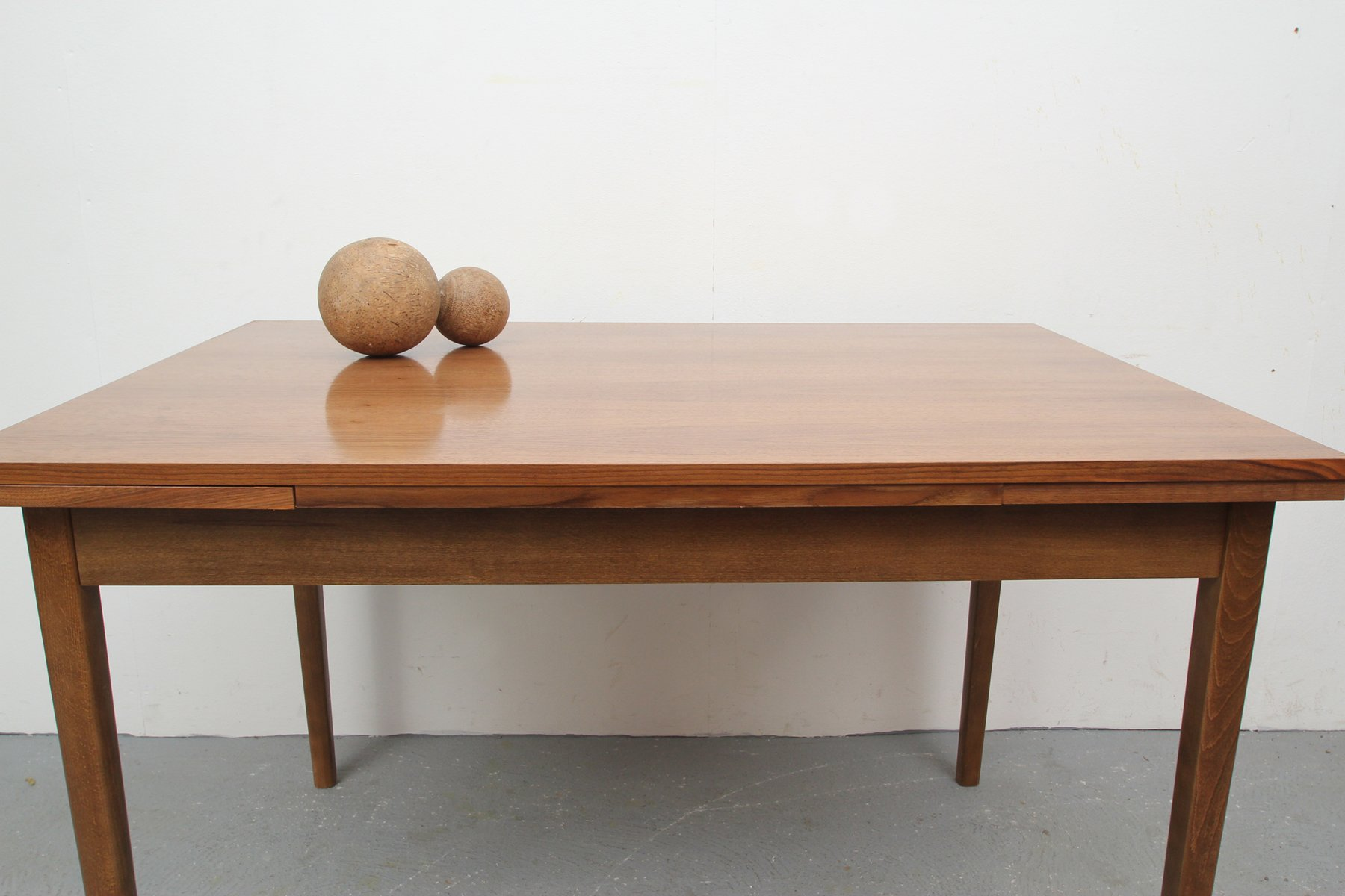 German walnut dining table 1960s for sale at pamono german walnut dining table 1960s 3 previous dzzzfo
