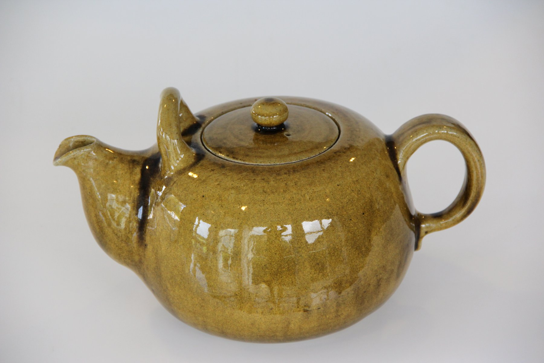 Vintage Danish Teapot by Nils Kähler for HAK for sale at Pamono