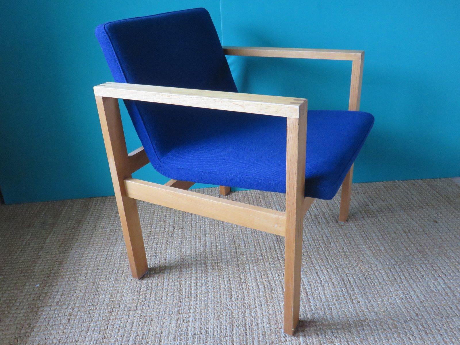 d nischer eiche polsterstuhl von christian linneberg. Black Bedroom Furniture Sets. Home Design Ideas