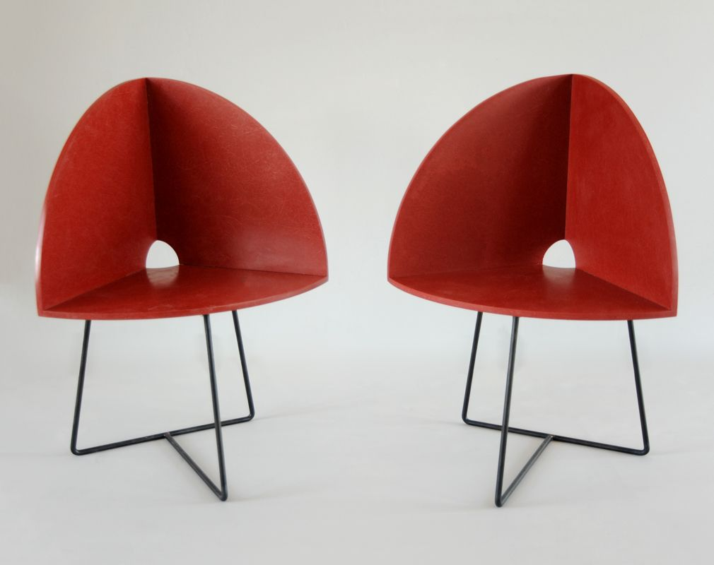 Modern Bucket Chairs by Chen Chen & Kai Williams, 2016, Set of 2 for ...