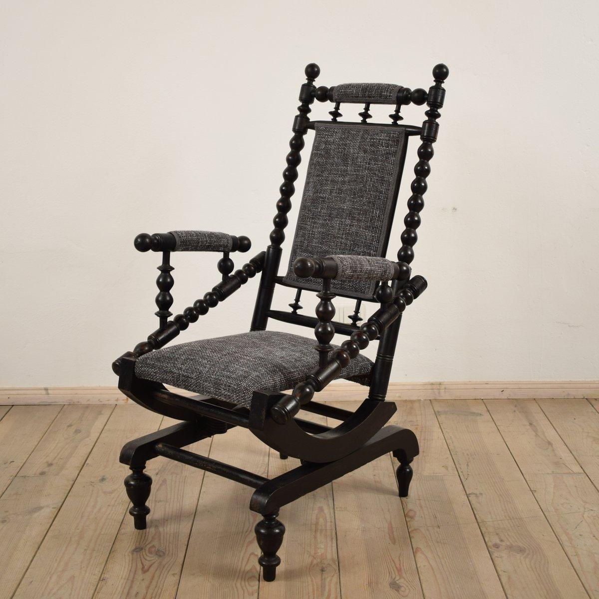 antiker amerikanischer schaukelstuhl bei pamono kaufen. Black Bedroom Furniture Sets. Home Design Ideas