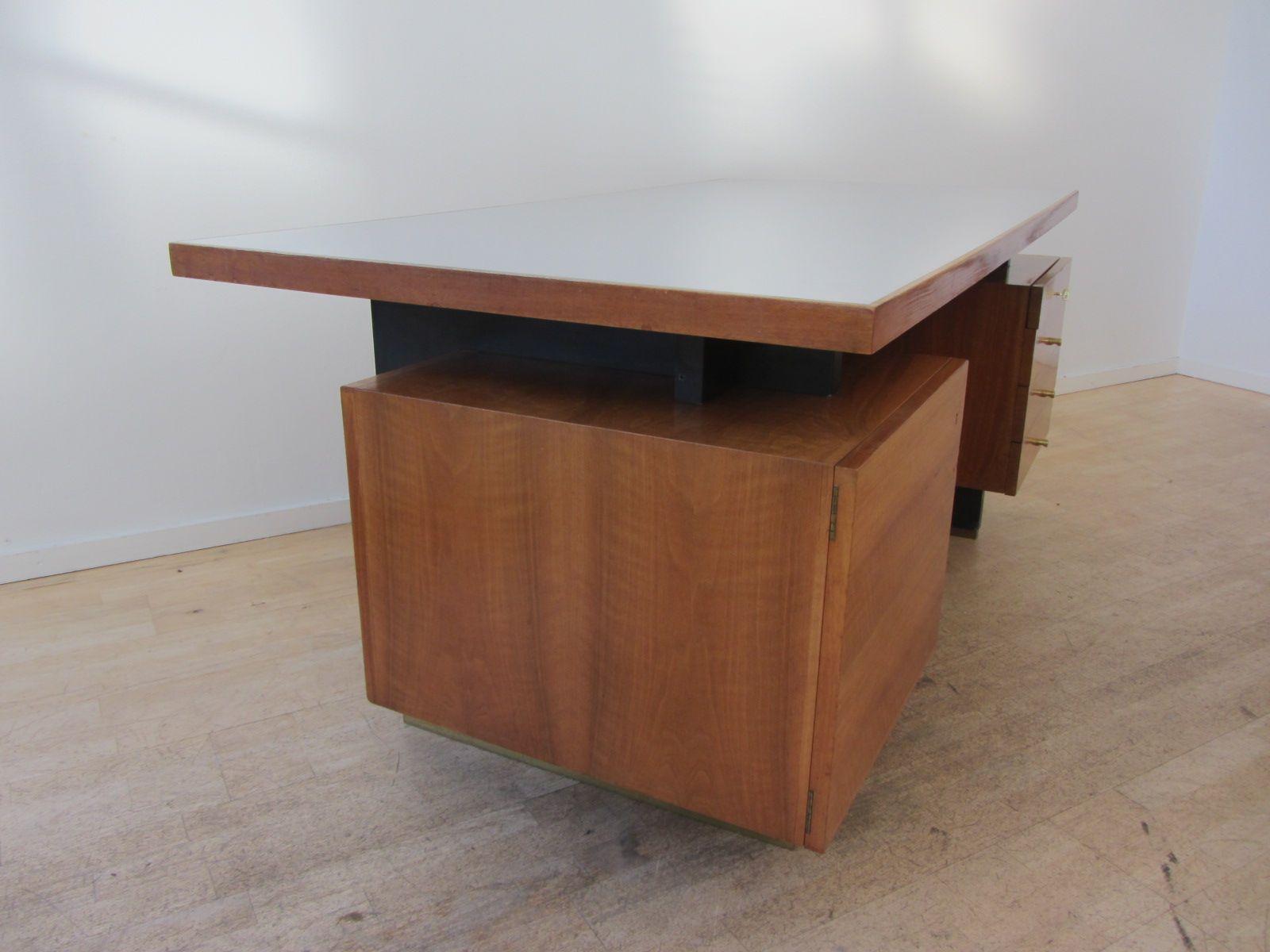 vintage schreibtisch von jos de mey f r van den berghe pauvers 1958 bei pamono kaufen. Black Bedroom Furniture Sets. Home Design Ideas