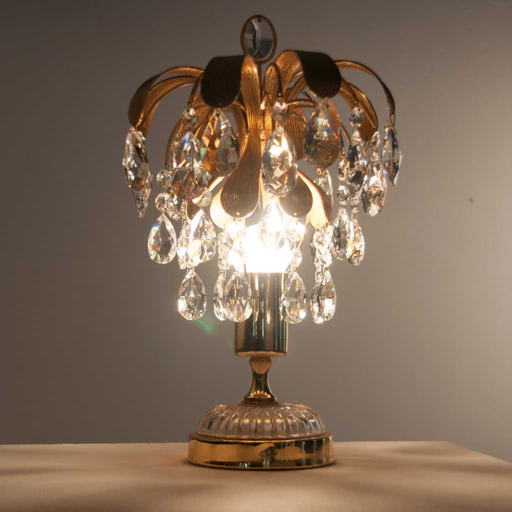 Brass U0026 Crystal Glass Table Lamp From Palwa, 1960s 5. $1,489.00. Price Per  Piece