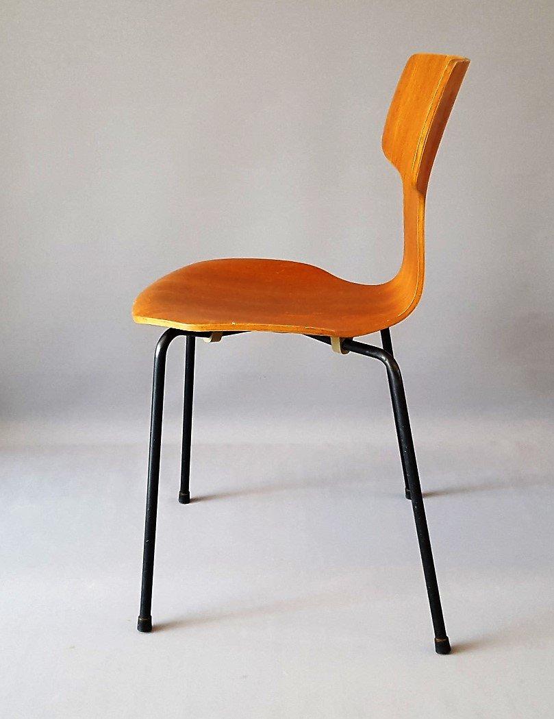 Model 3103 Hammer Chair by Arne Jacobsen for Fritz Hansen ...