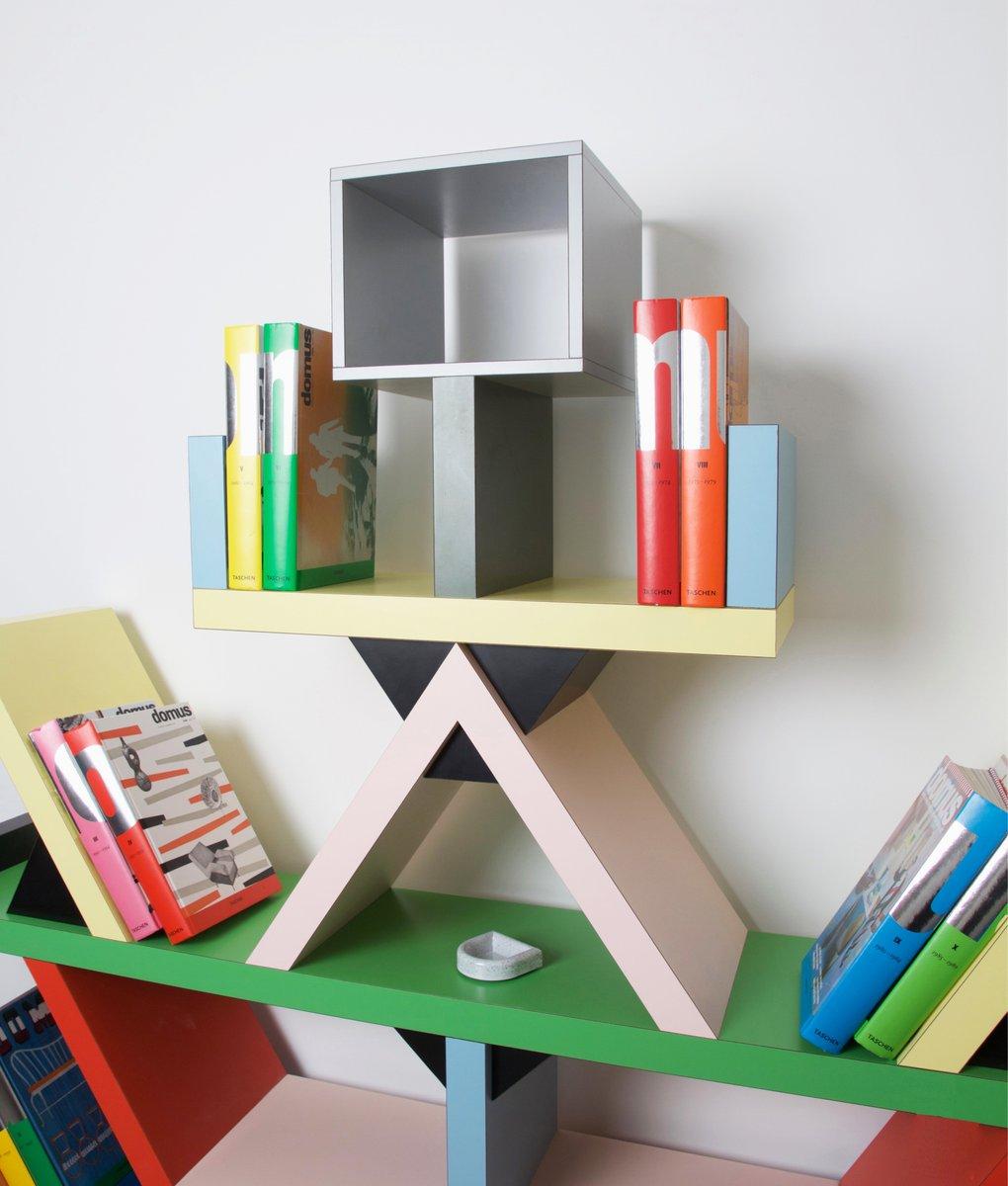 Italian carlton bookcase by ettore sottsass for memphis for Design parade milano