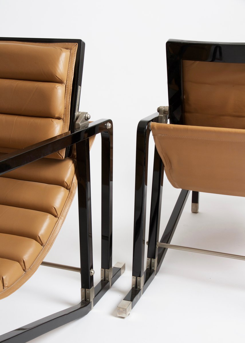 transat chairs by eileen gray for ecart international. Black Bedroom Furniture Sets. Home Design Ideas
