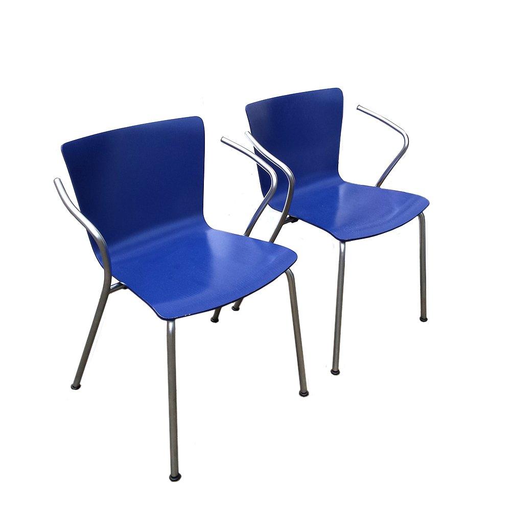 stapelbare vm 101 st hle von vico magistretti f r fritz. Black Bedroom Furniture Sets. Home Design Ideas