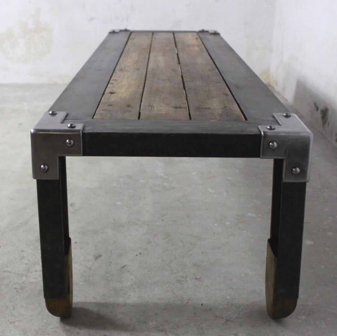 Innovative Industrial Coffee Table Interior