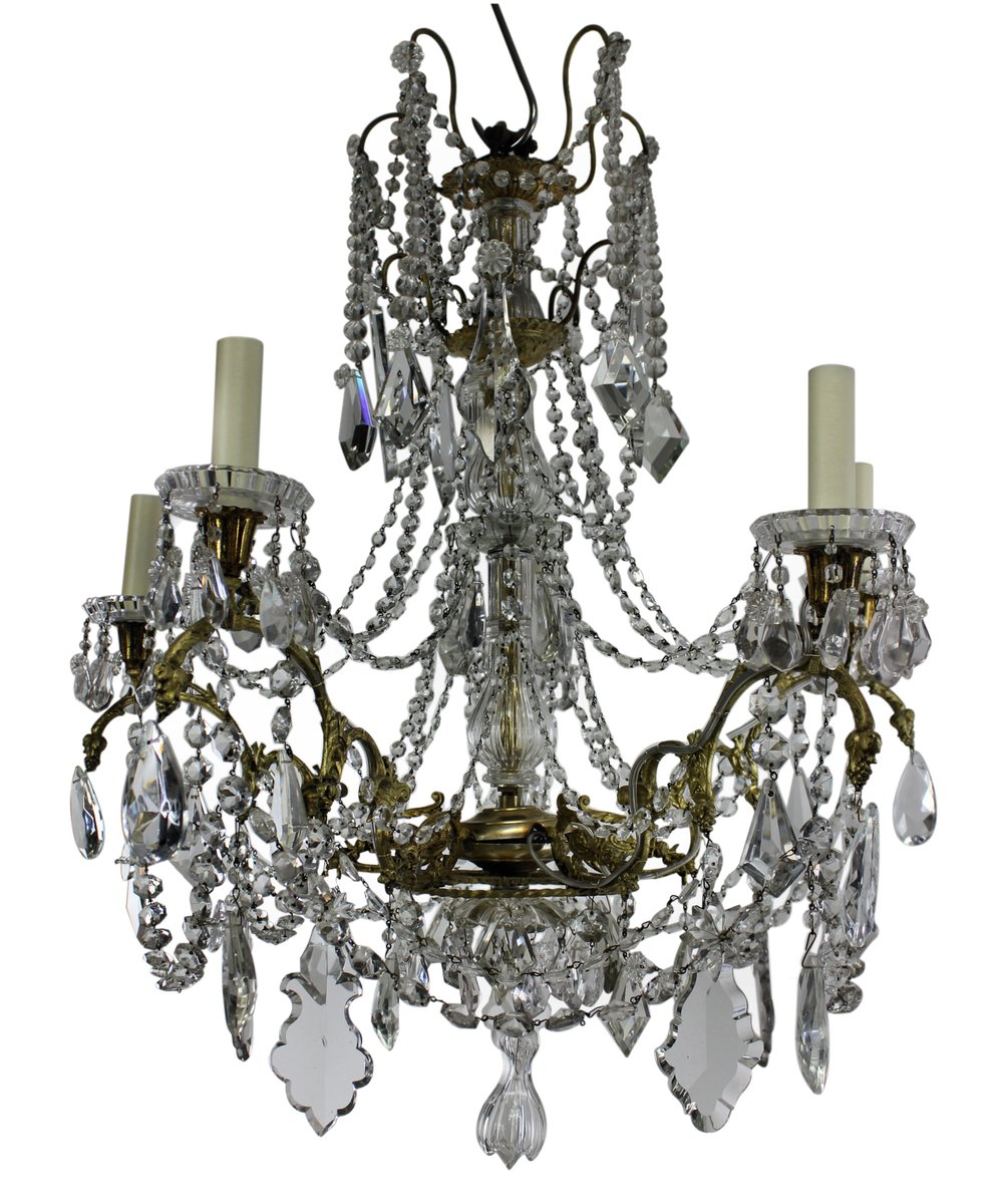Antique french chandelier from baccarat 1880s for sale at pamono antique french chandelier from baccarat 1880s audiocablefo