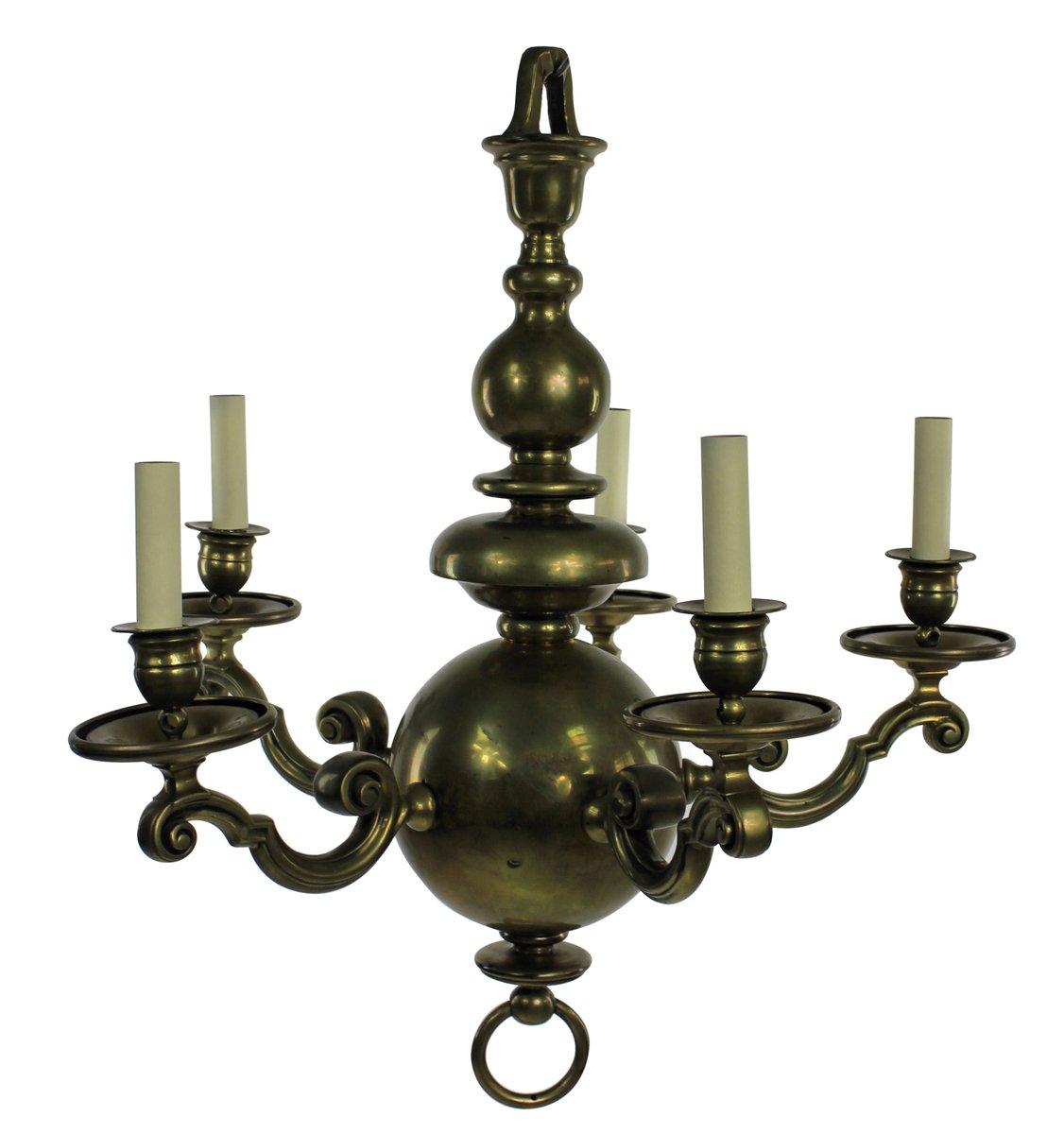 Antique Dutch Chandelier, 1840s - Antique Dutch Chandelier, 1840s For Sale At Pamono