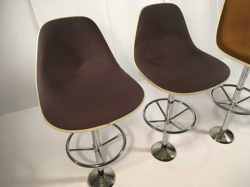 vintage barhocker von ray charles eames f r herman. Black Bedroom Furniture Sets. Home Design Ideas