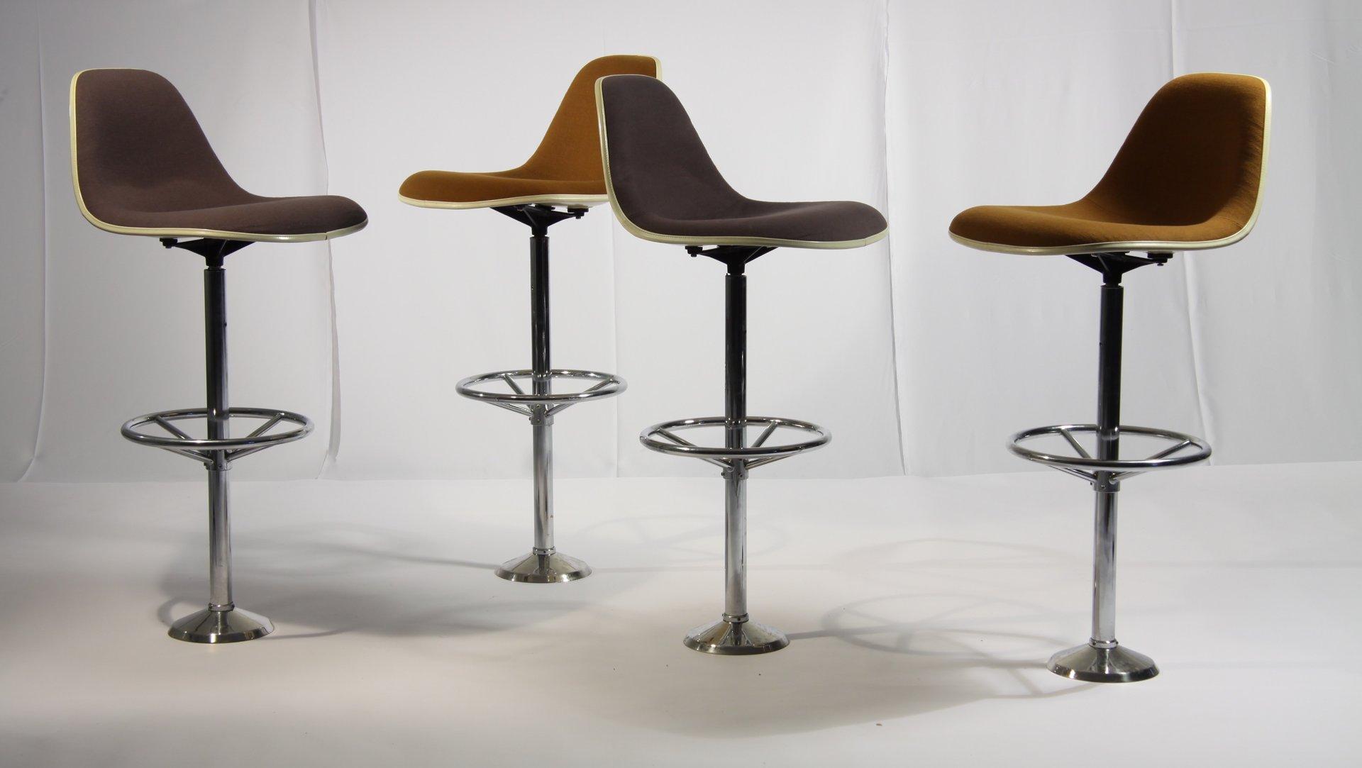Sgabelli bar vintage di Ray & Charles Eames per Herman Miller, set ...