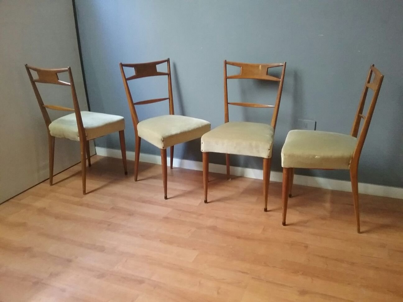 Vintage esstisch st hle 1950er bei pamono kaufen - Esstisch 4 stuhle ...
