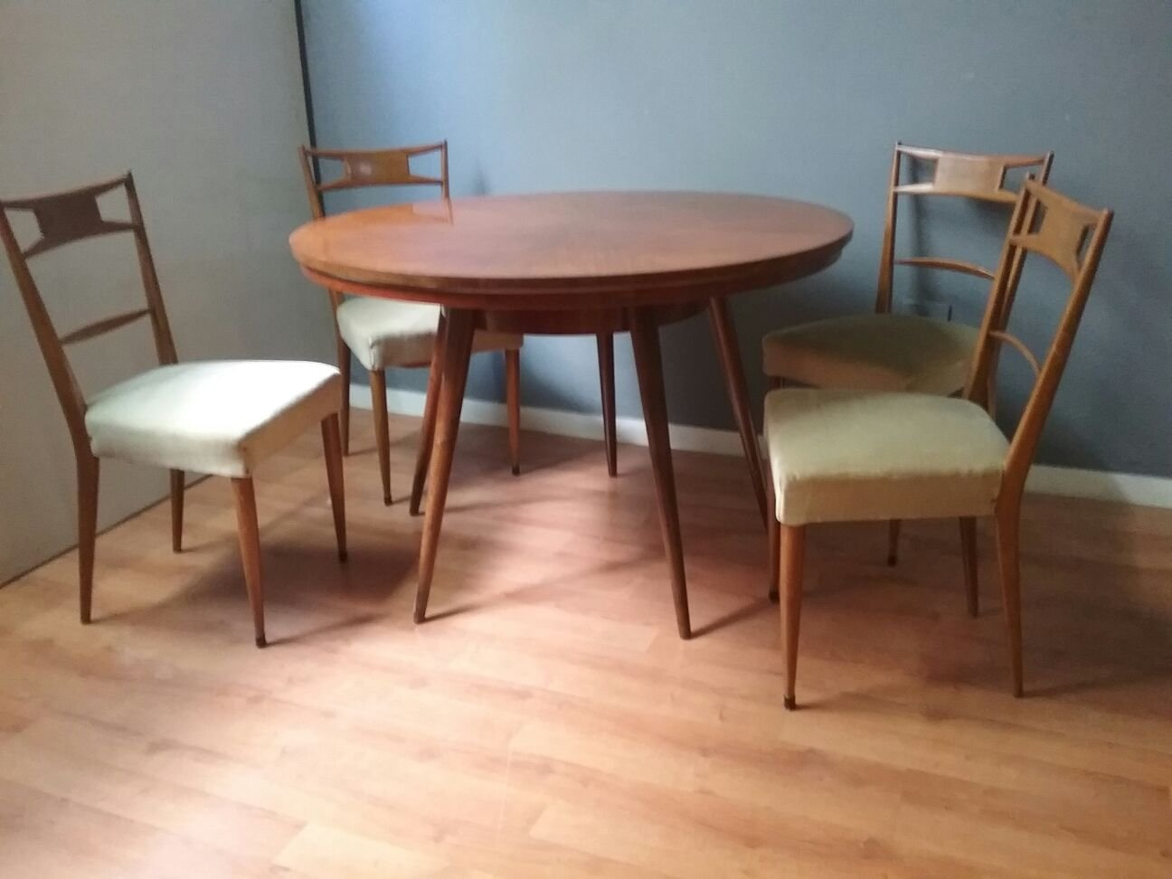 antique dining room chairs. Vintage Dining Table \u0026 Chairs, 1950s Antique Room Chairs