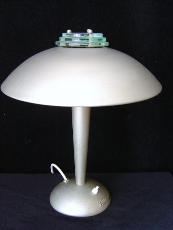 Art deco desk light from berrys 1930s