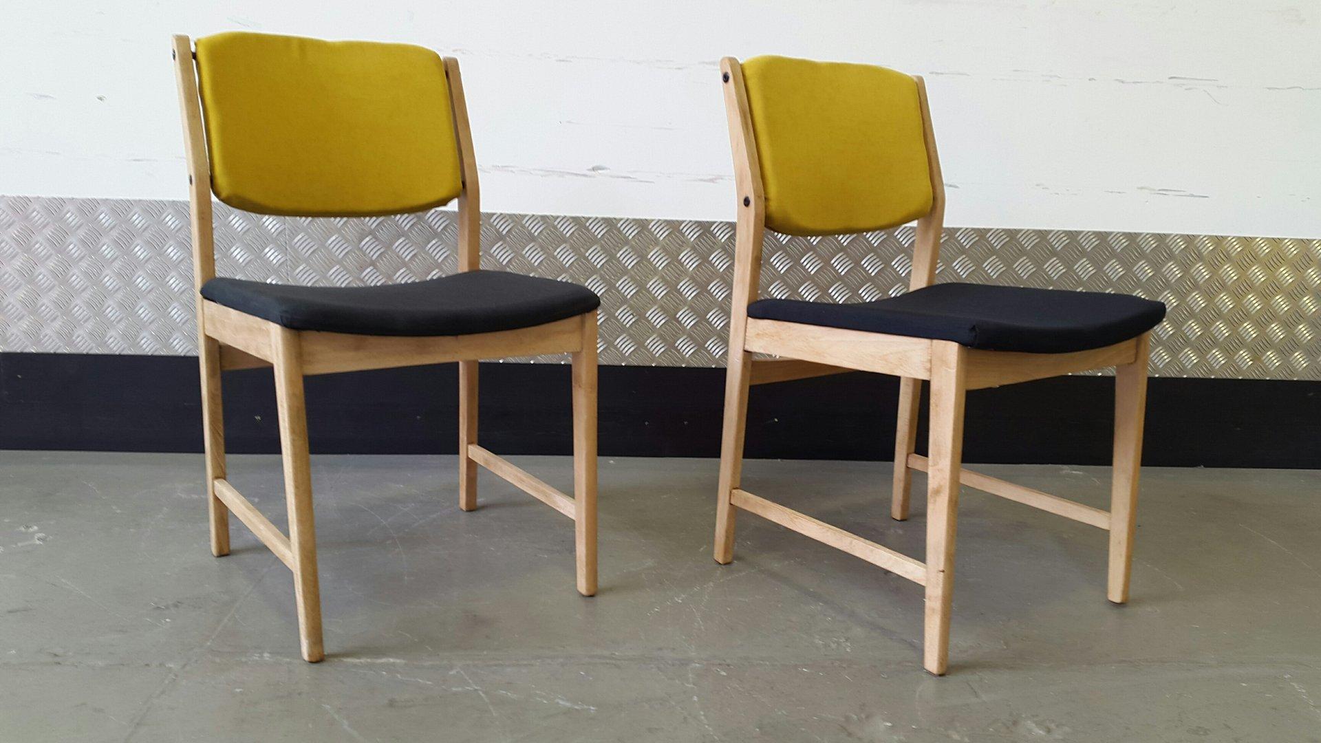 vintage esszimmerst hle 1970er 2er set bei pamono kaufen. Black Bedroom Furniture Sets. Home Design Ideas