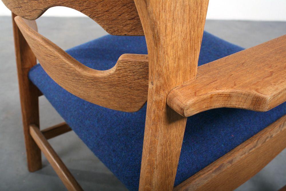 razor blade armlehnstuhl von henning kjaernulf bei pamono kaufen. Black Bedroom Furniture Sets. Home Design Ideas