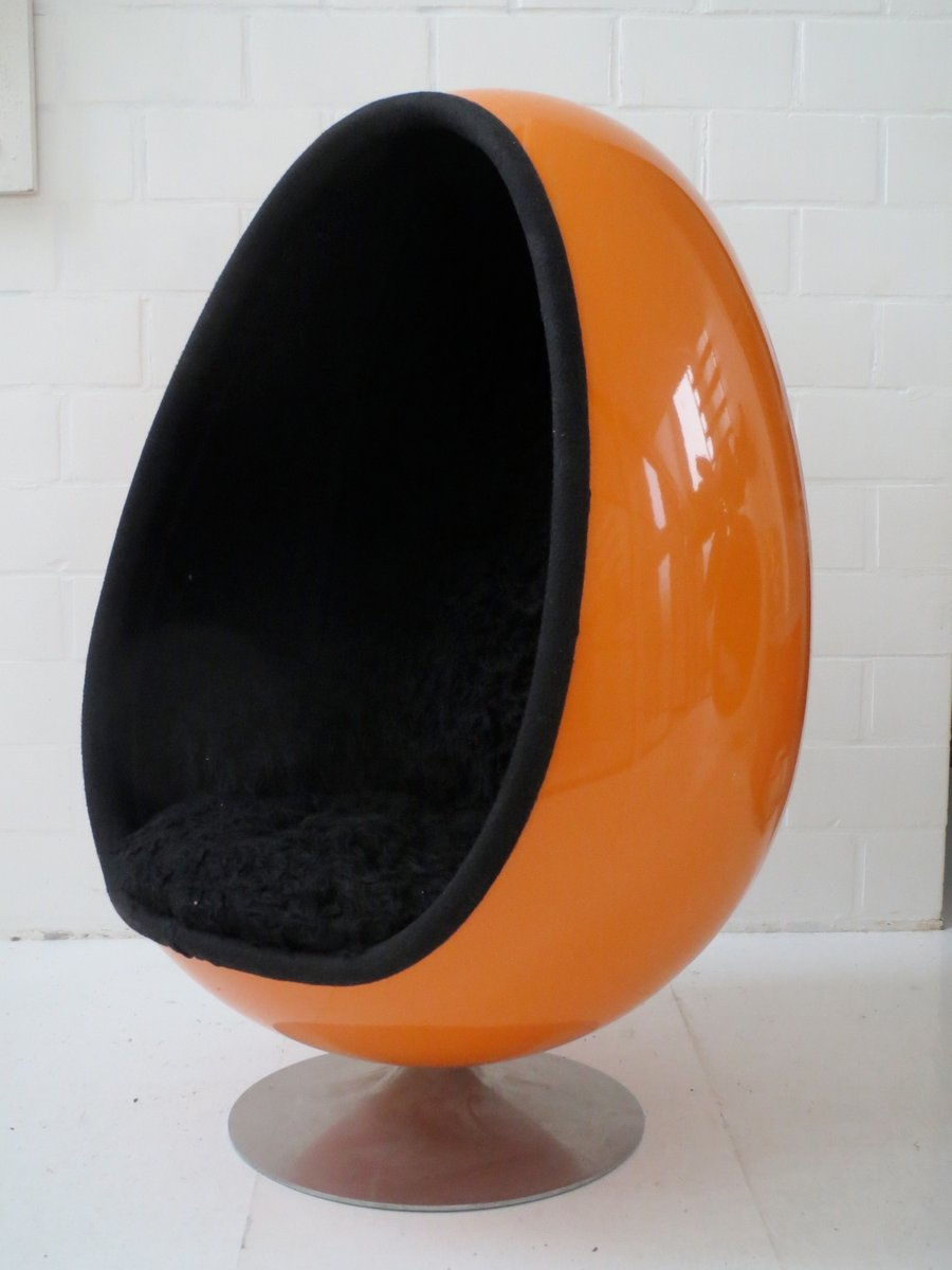 Ovalia Egg Chair By Thor Larsen For Torlan Staffanstorp