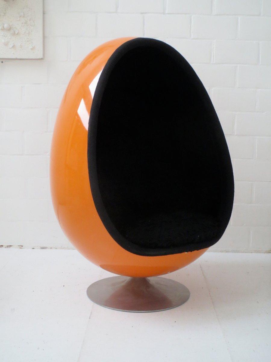 Ovalia Egg Chair By Thor Larsen For Torlan Staffanstorp, 1968