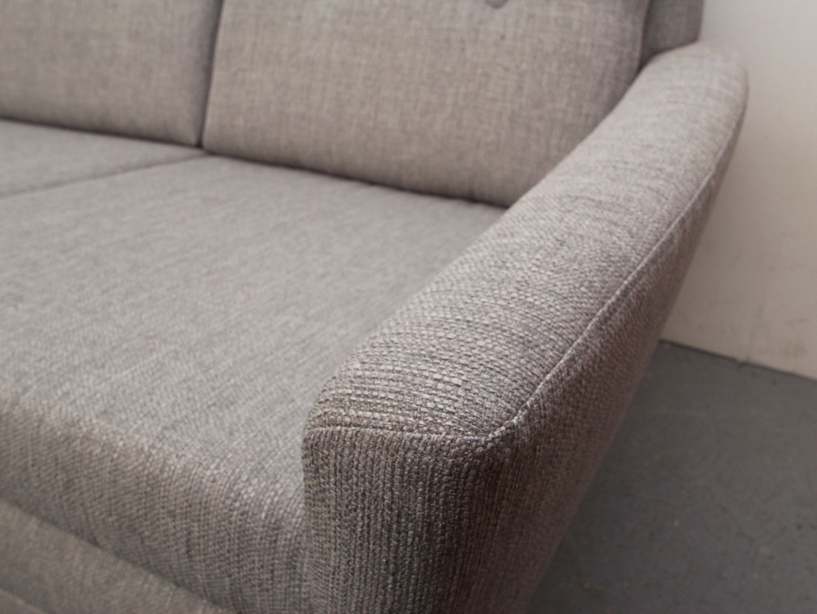 Divano grigio chiaro, Danimarca, anni \'50 in vendita su Pamono