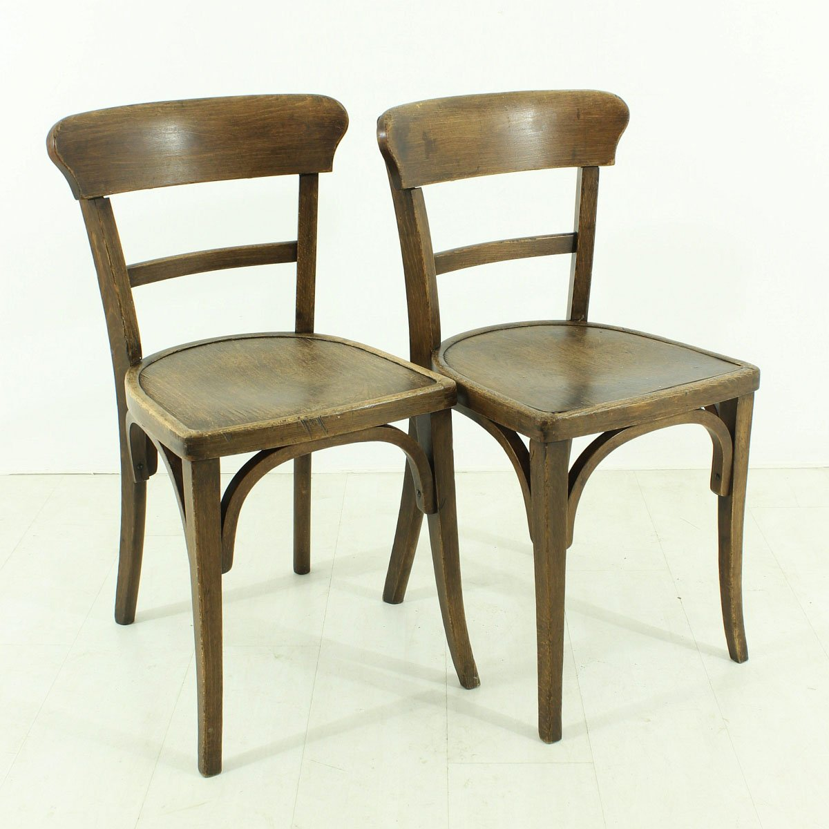 Vintage Dining Chairs 1930s Set of 2 for sale at Pamono