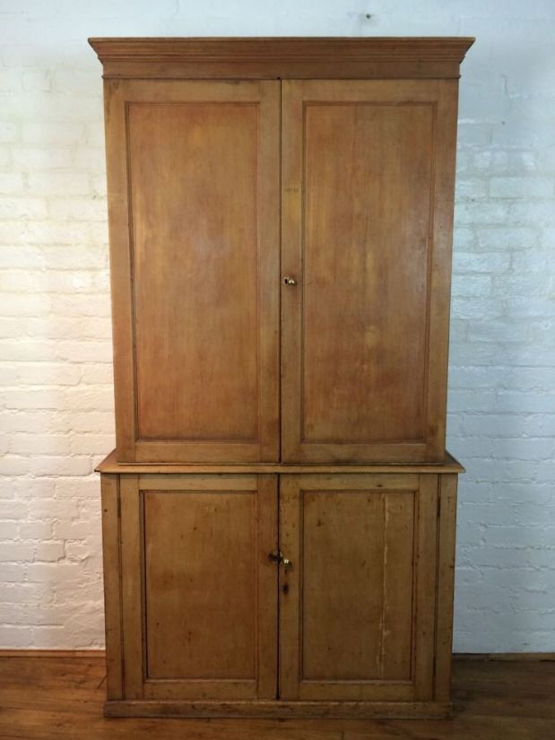 - Victorian Antique Pine Storage Cabinet For Sale At Pamono