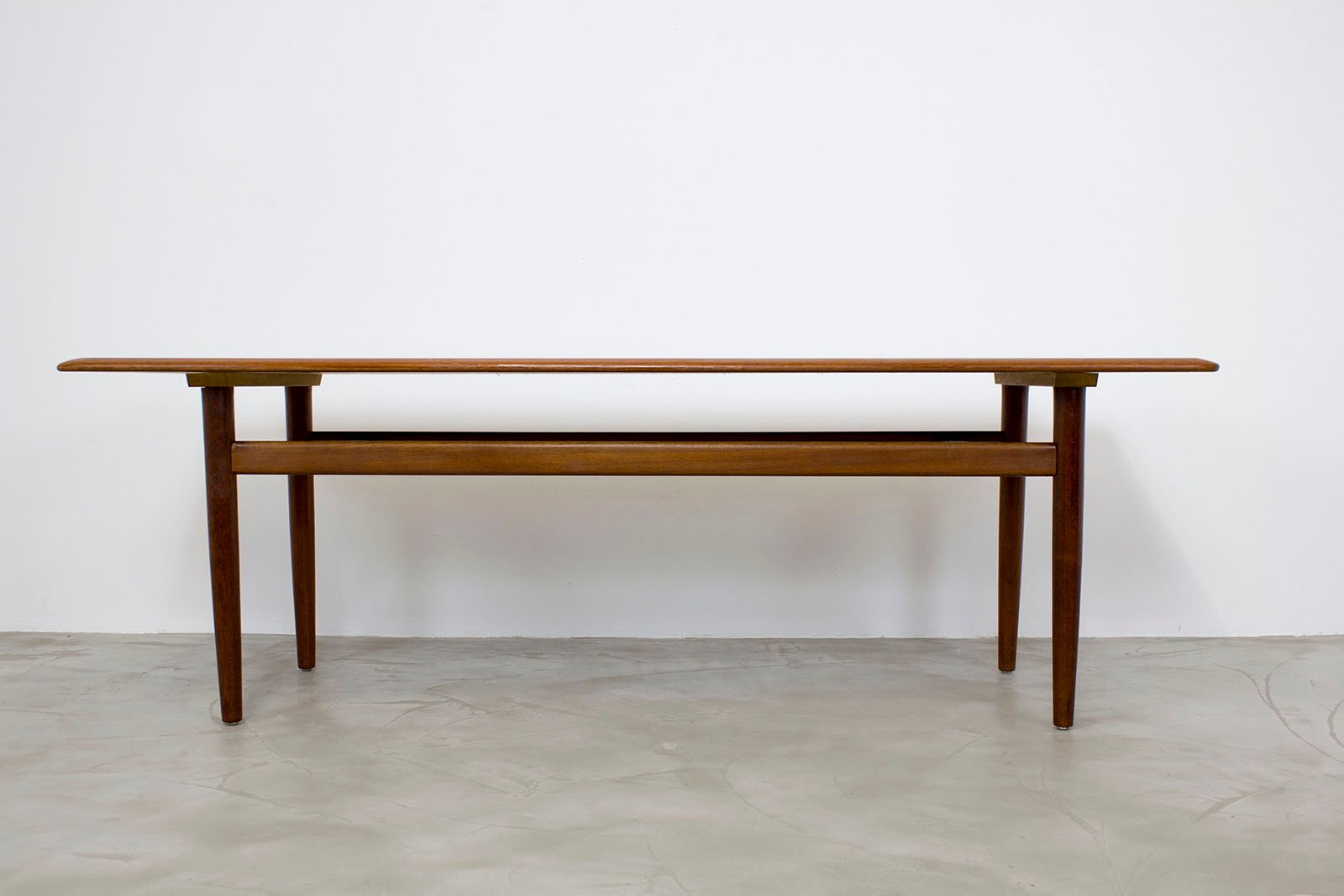 Danish Modern Teak Coffee Table 1960s