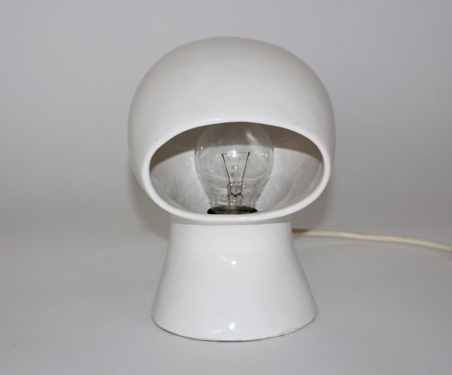 wei e spanische keramik tischlampe 1960er bei pamono kaufen. Black Bedroom Furniture Sets. Home Design Ideas