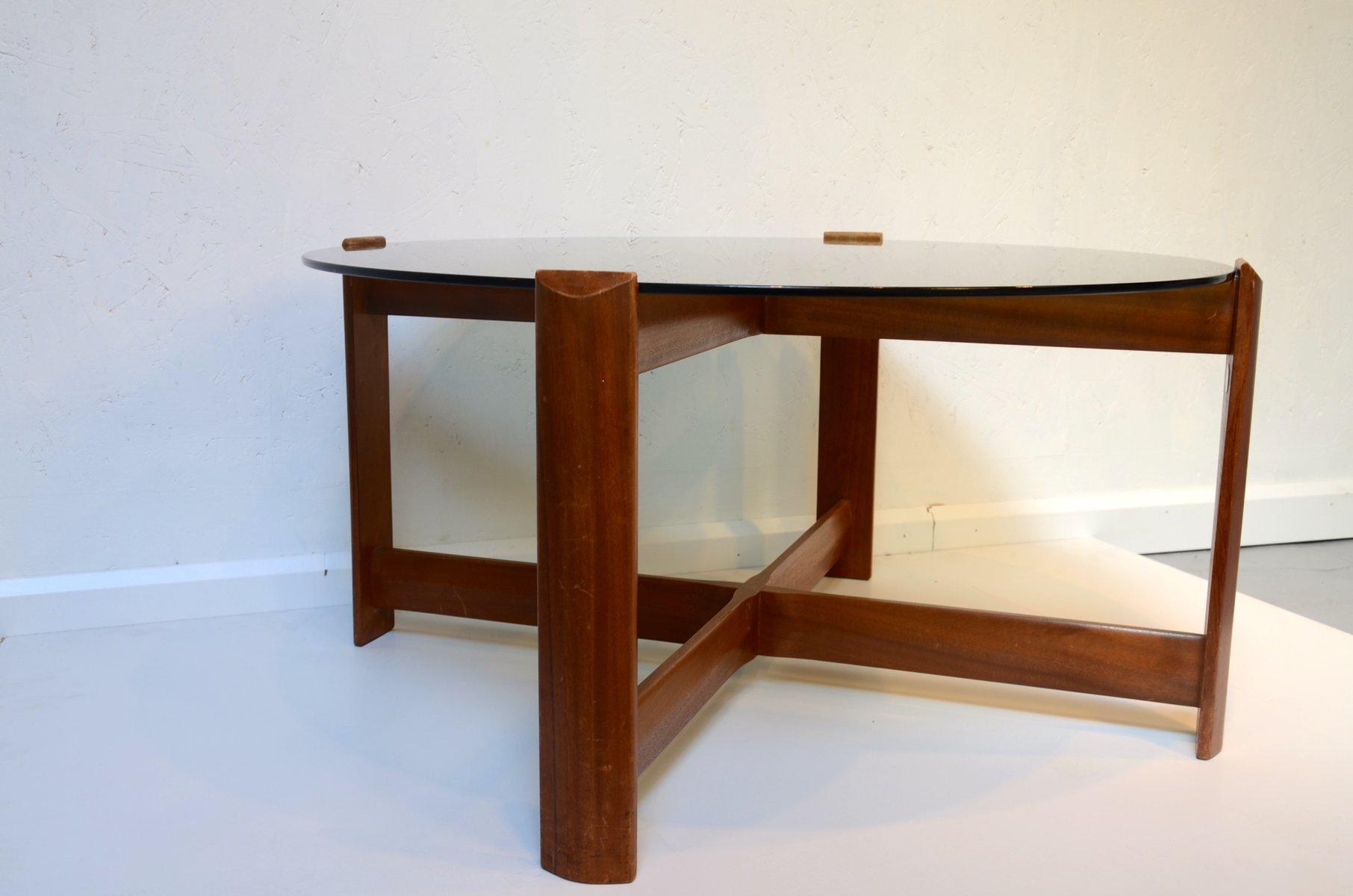 kleiner d nischer vintage couchtisch bei pamono kaufen. Black Bedroom Furniture Sets. Home Design Ideas