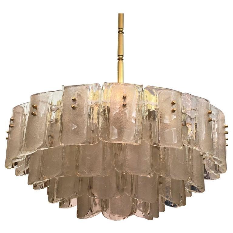 Large crystal glass chandelier 1960s en venta en pamono large crystal glass chandelier 1960s imagen 3 previous aloadofball Choice Image