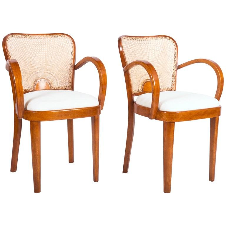 Dining Armchairs From Fischel 1930 Set Of 2 For Sale At