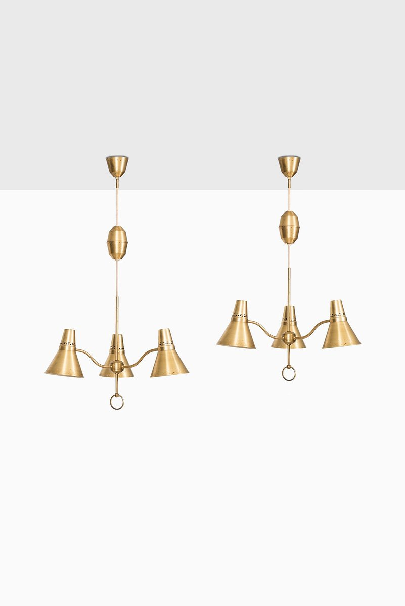 Brass height adjustable ceiling lamp in brass from ab e hansson brass height adjustable ceiling lamp in brass from ab e hansson co mozeypictures Image collections
