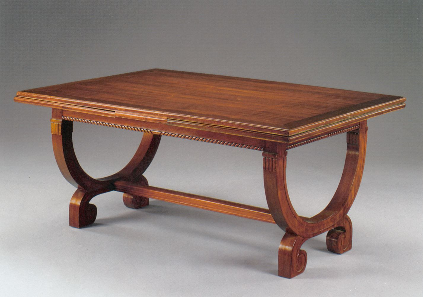 234 mahogany dining table by se mare for compagnie des arts francais 1920s for sale at pamono - Mahogany Dining Table