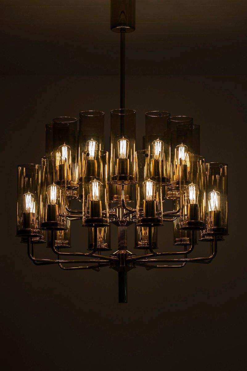 Model t 43424 chandelier from hans agne jakobsson 1950s en venta previous aloadofball Image collections