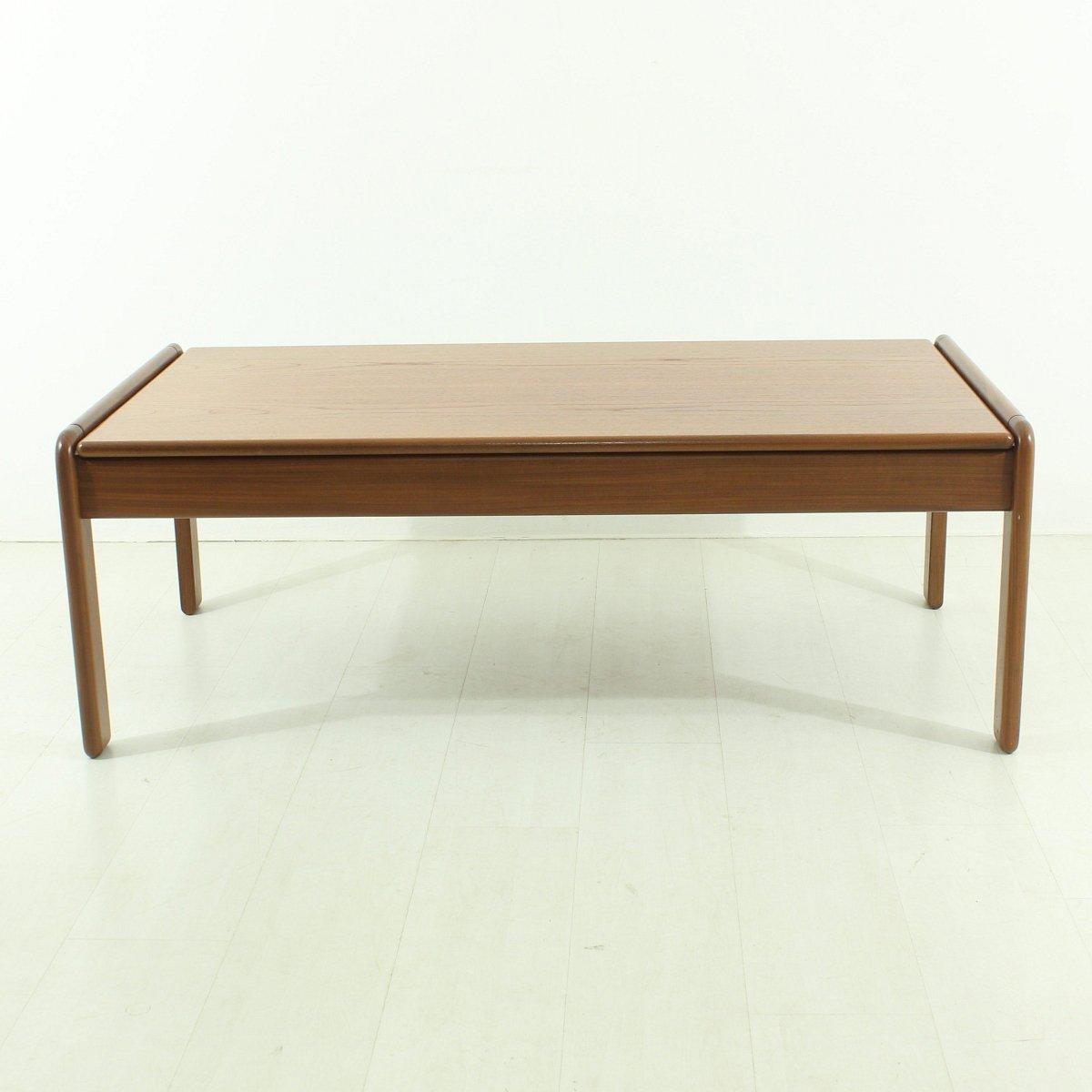 skandinavischer teak couchtisch 1960er bei pamono kaufen. Black Bedroom Furniture Sets. Home Design Ideas