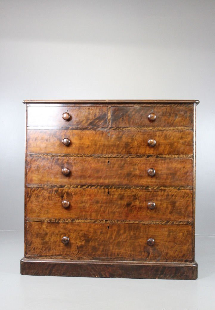 antike gro e viktorianische mahagoni kommode bei pamono kaufen. Black Bedroom Furniture Sets. Home Design Ideas