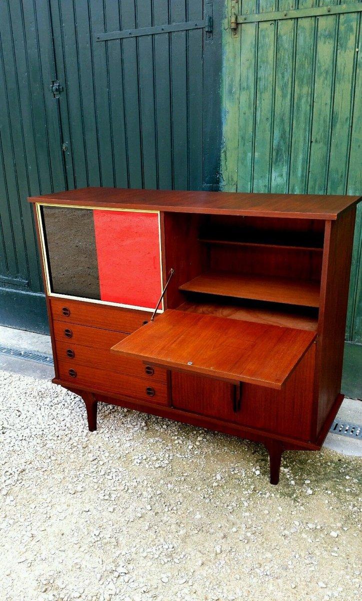 skandinavischer mid century teak sekret r bei pamono kaufen. Black Bedroom Furniture Sets. Home Design Ideas