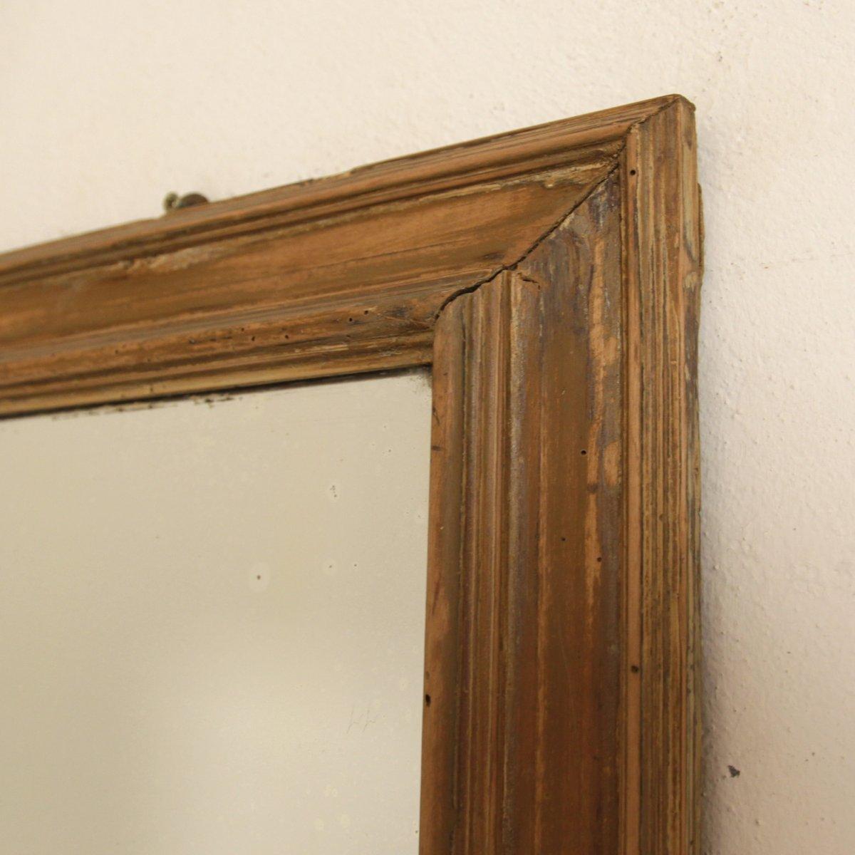 antiker kleiner skandinavischer spiegel bei pamono kaufen. Black Bedroom Furniture Sets. Home Design Ideas