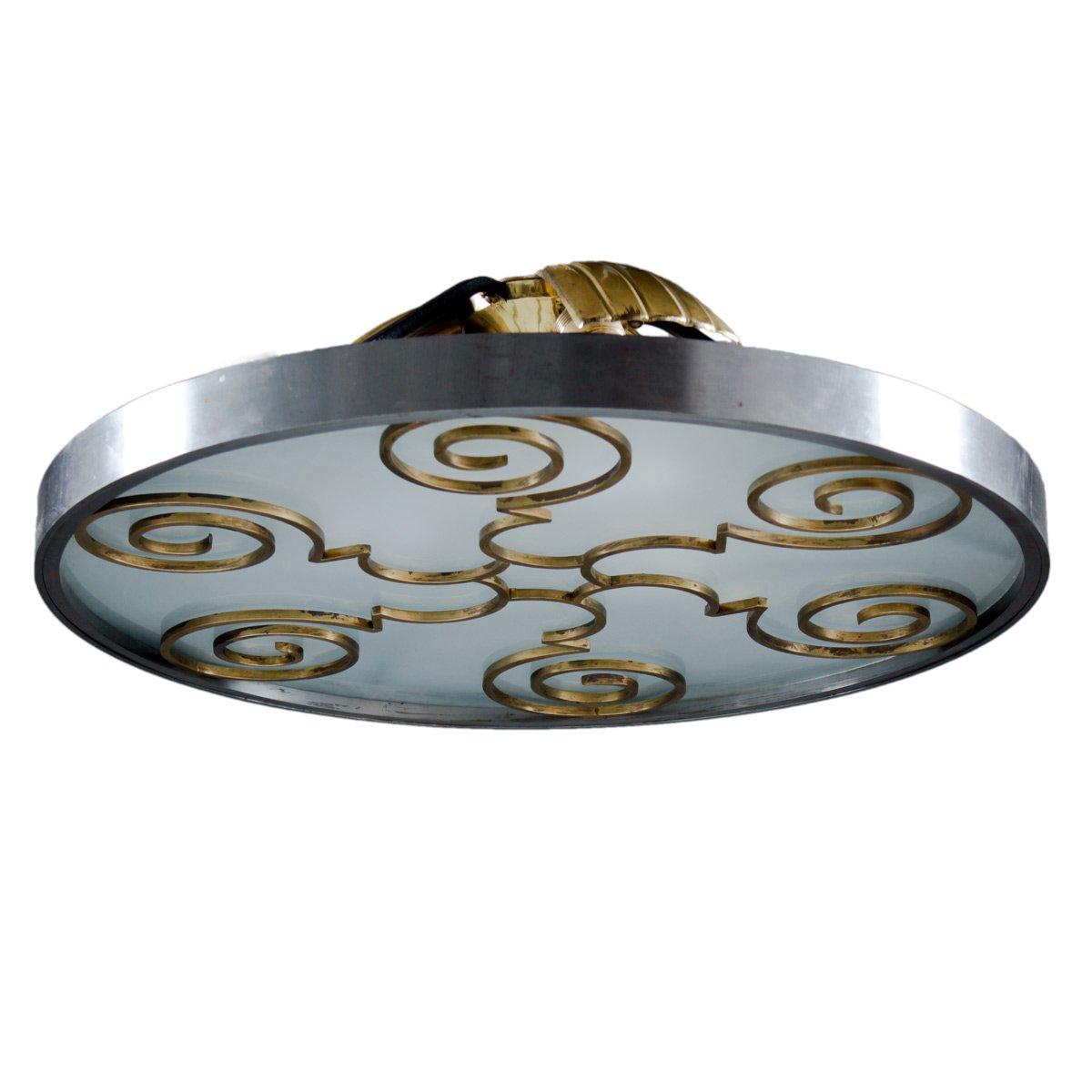 Vintage swedish grace flush mount chandelier by lars holmstrm for vintage swedish grace flush mount chandelier by lars holmstrm mozeypictures Choice Image