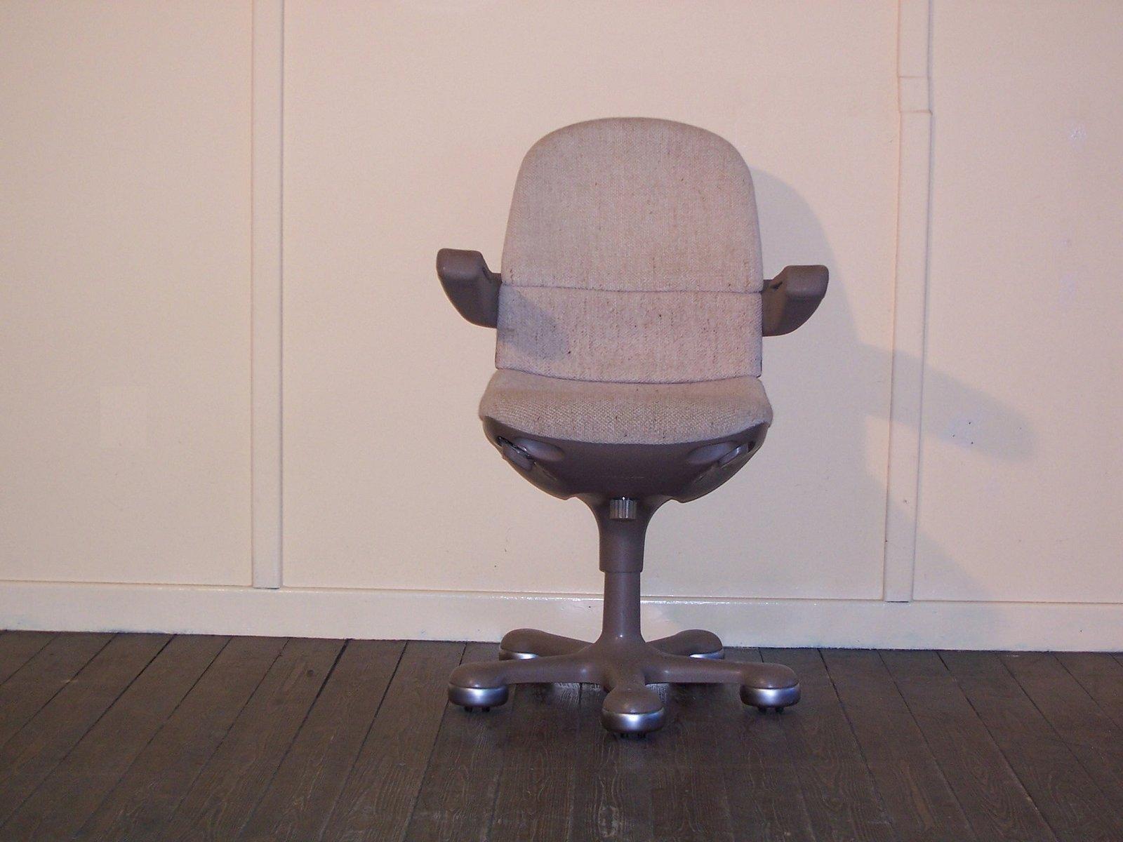 Sedia da ufficio vintage con rotelle di mauser in vendita for Sedia a rotelle ruote piccole