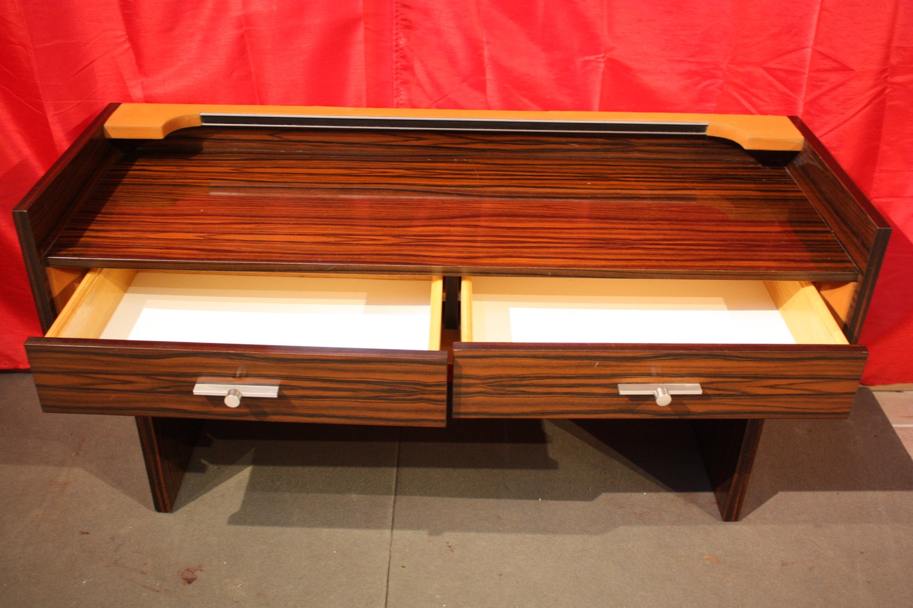 Macassar Ebony Console Table 1960s For Sale At Pamono