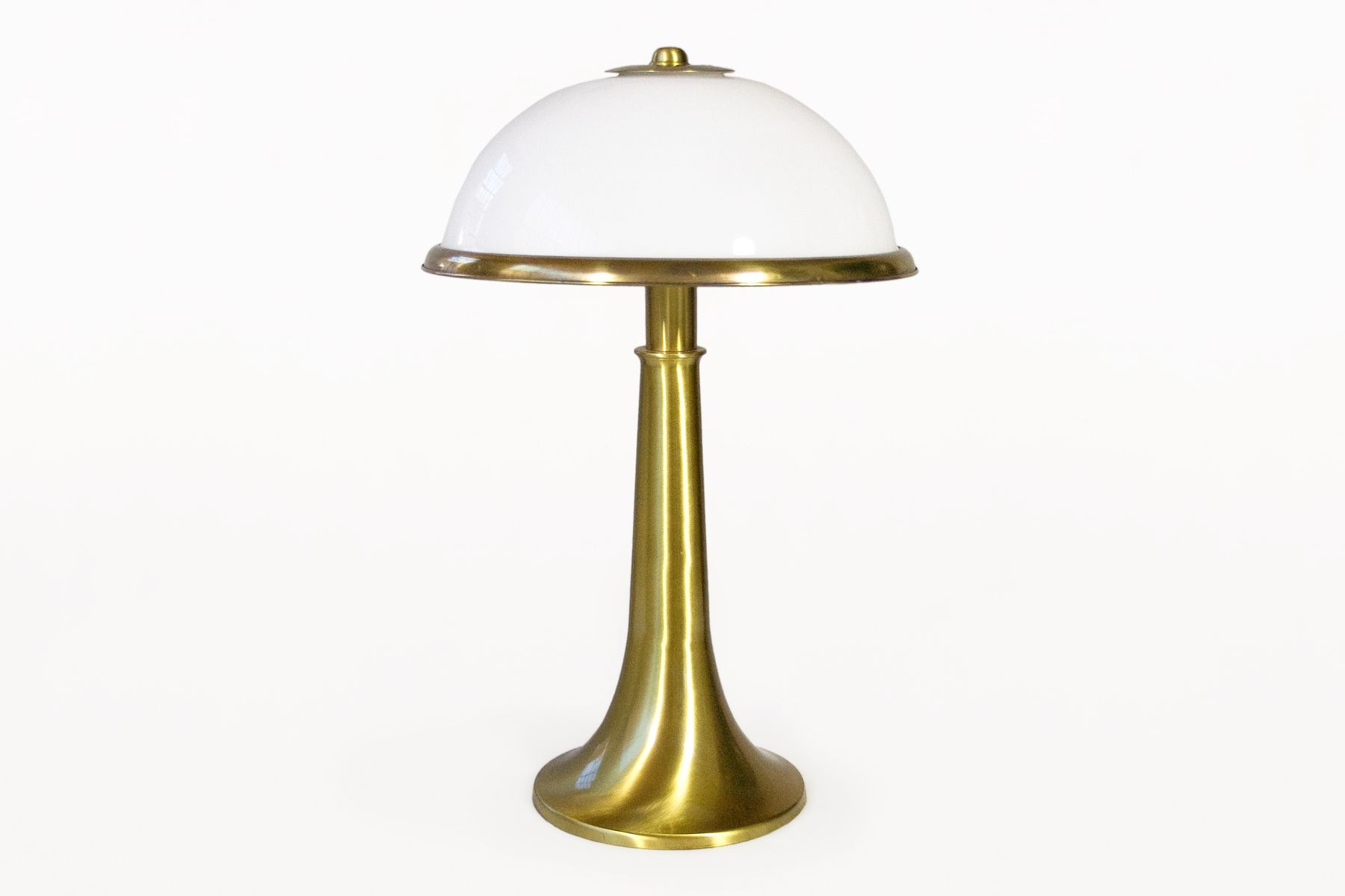messing tischlampe von gabriella crespi 1970er bei pamono. Black Bedroom Furniture Sets. Home Design Ideas