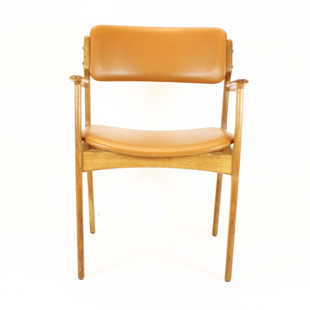 Mid Century Model 49 Dining Chairs by Erik Buch for OD Mobler Set