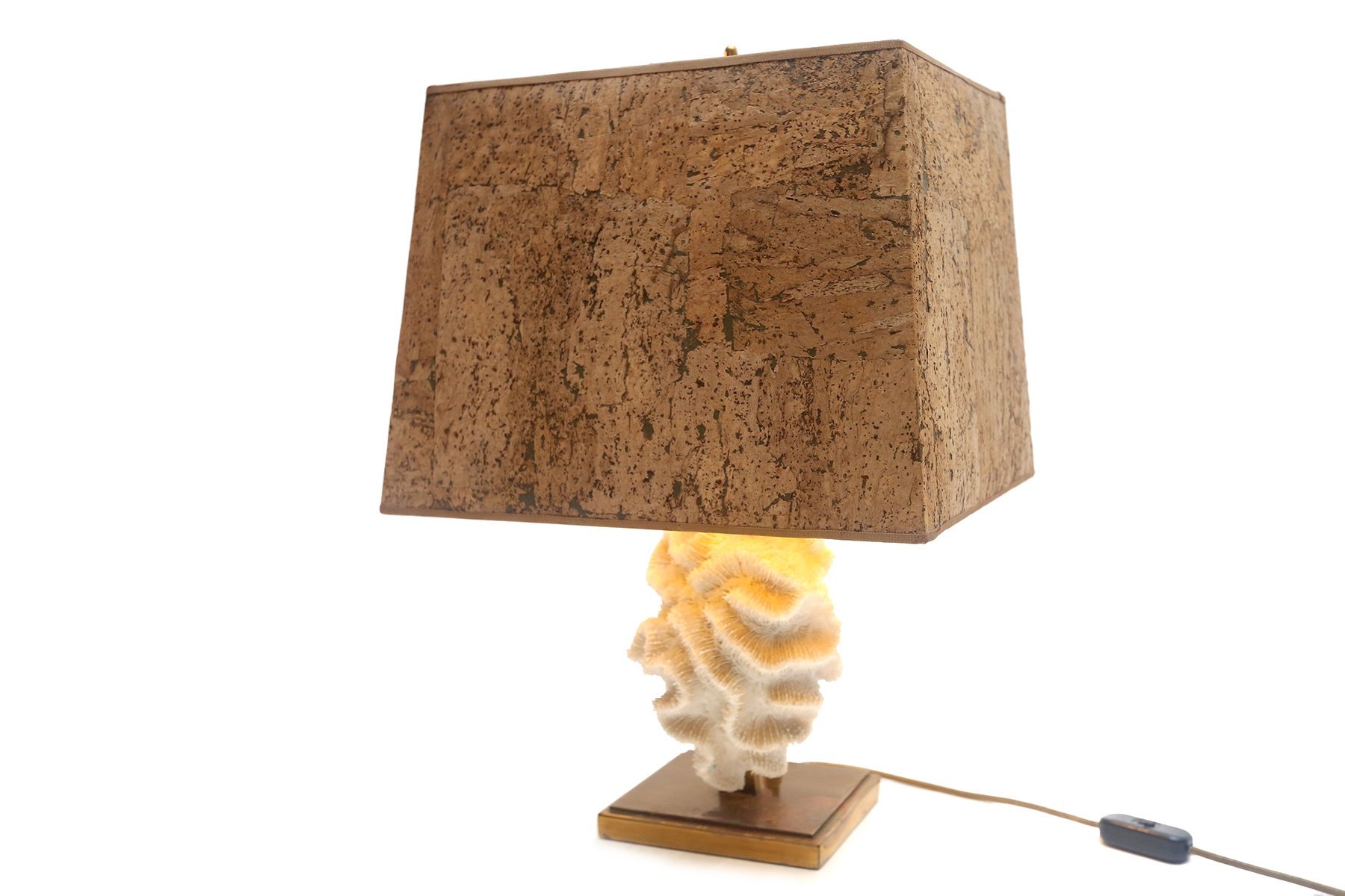 Coral Table Lamps, Set Of 2 For Sale At Pamono