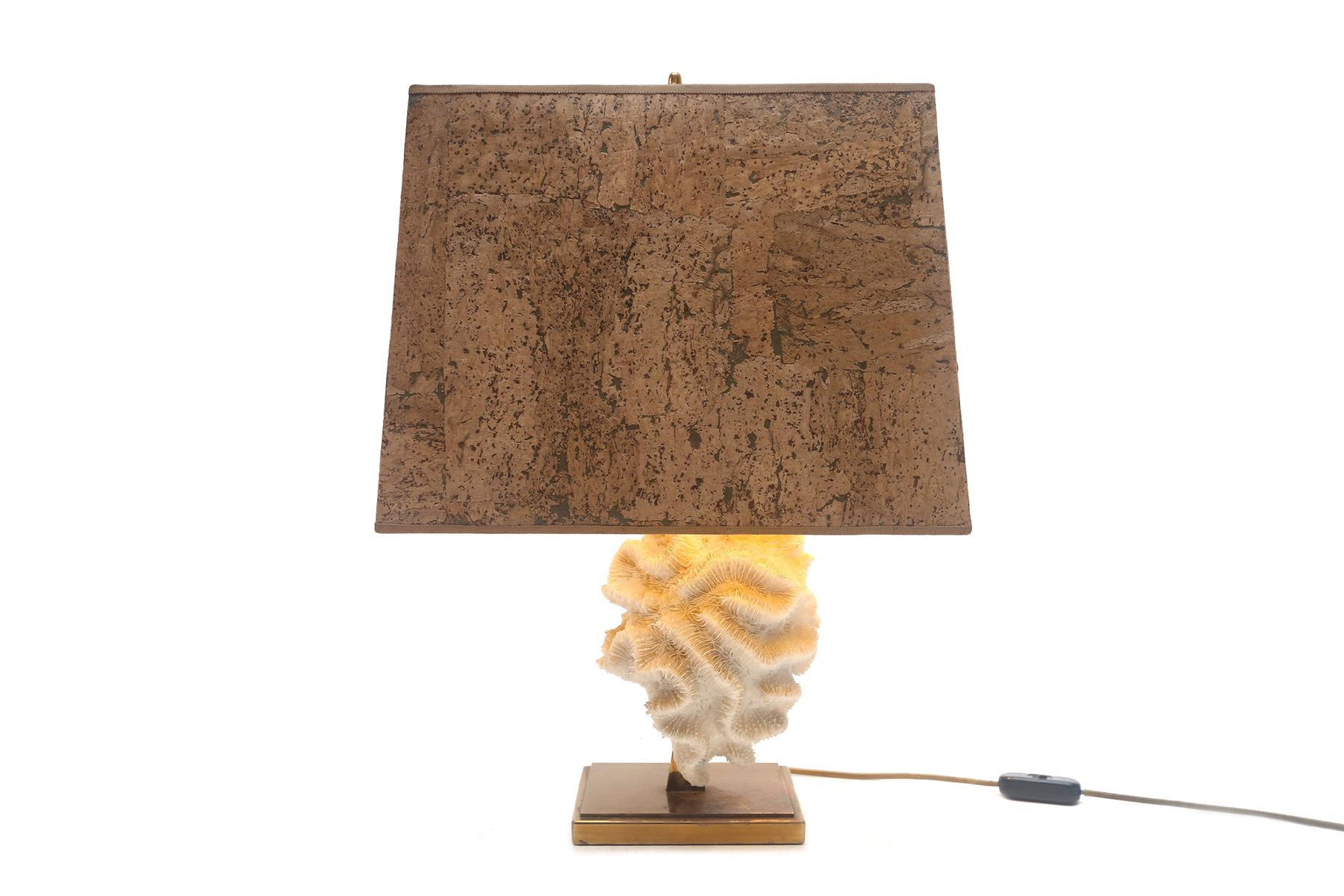 Coral table lamps set of 2 for sale at pamono price per set mozeypictures Images