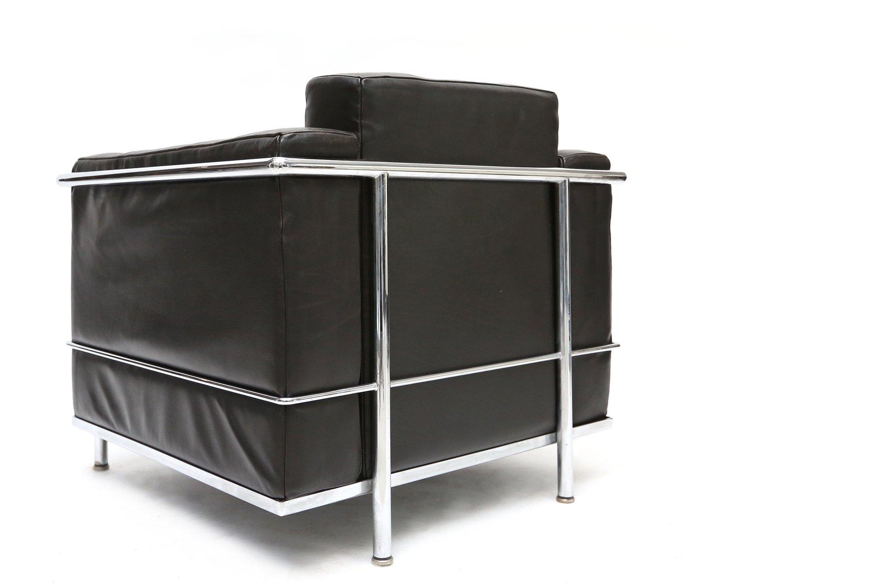 Poltrona LC2 vintage di Le Corbusier, Jeanneret e Perriand per ...