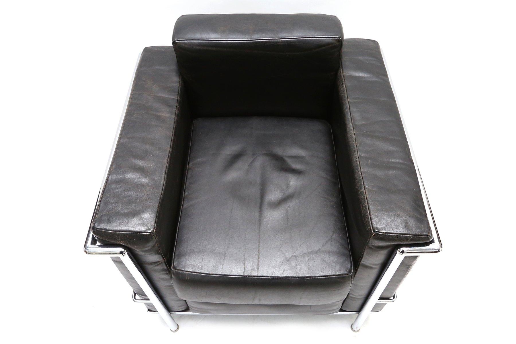 Le corbusier poltrona elegante divani di modernariato originali